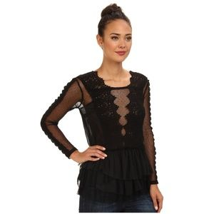 Free People Midnight Memories' Lace Top